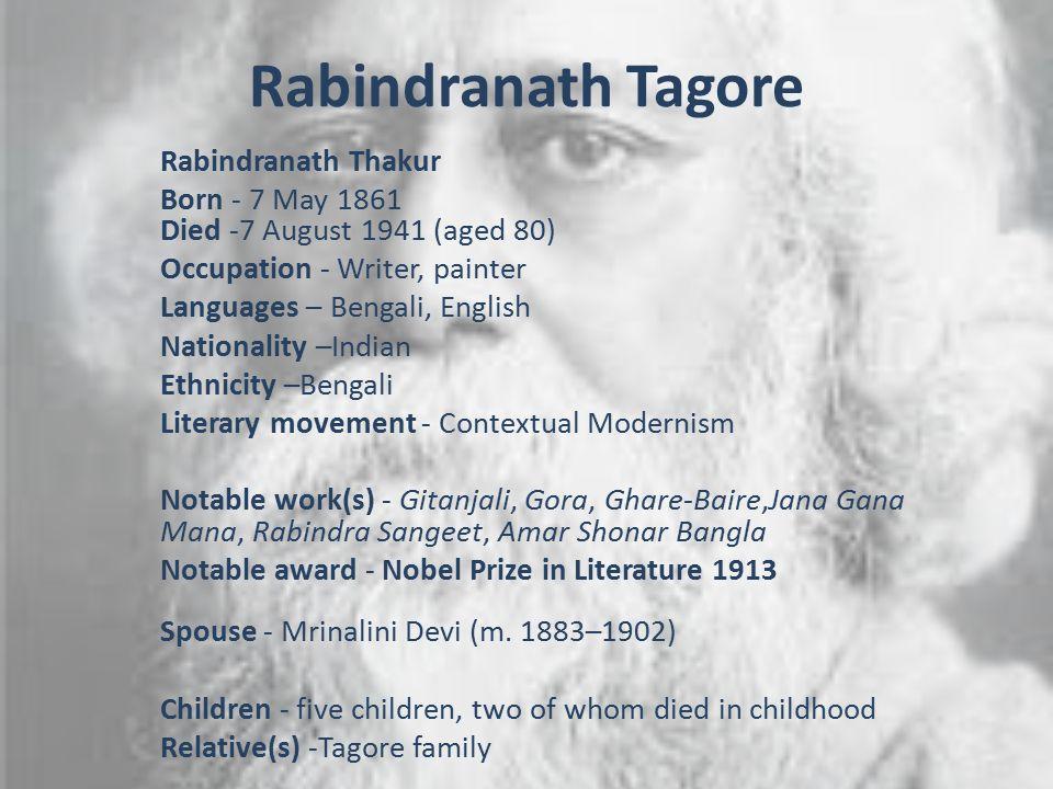 1 Rabindranath ...