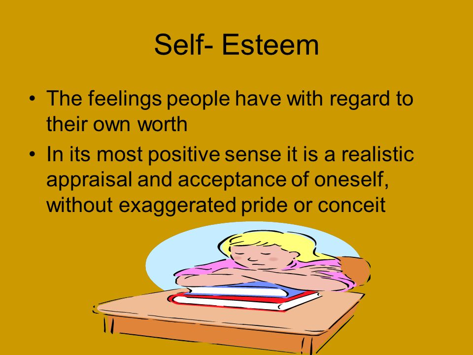 self esteem and its effects on the Colorism and its affect on women's self esteem by: brianna warren what is colorism colorism is the discrimination of someone's complexion from within their own ethnicity group.