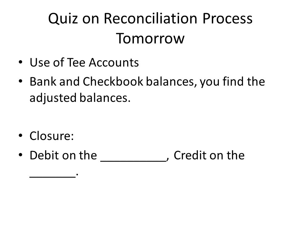 Lesson Four Objective Complete month two of the checking account – Checkbook Balance Worksheet