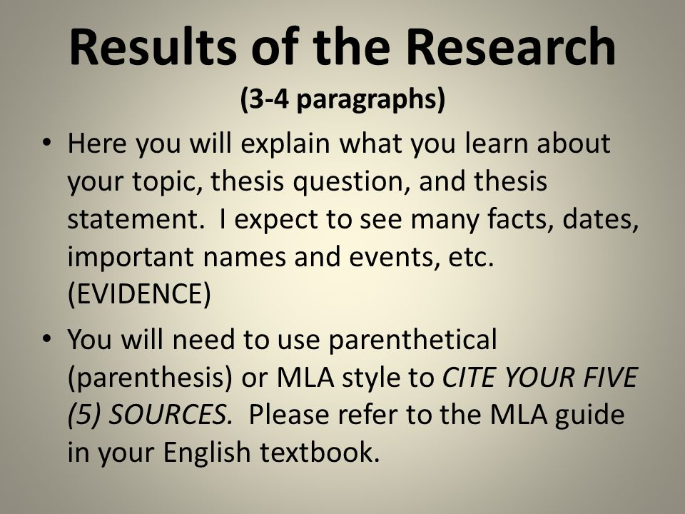 What is conclusion in research paper