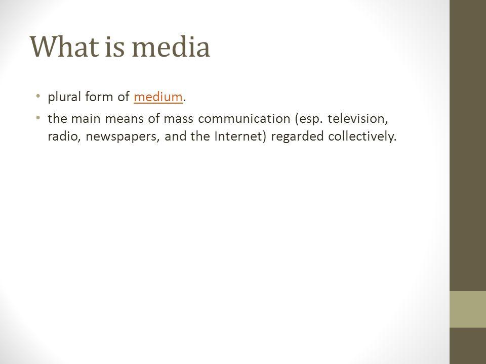 Digital Media Content MCD 7213 Development. Presentation outline ...