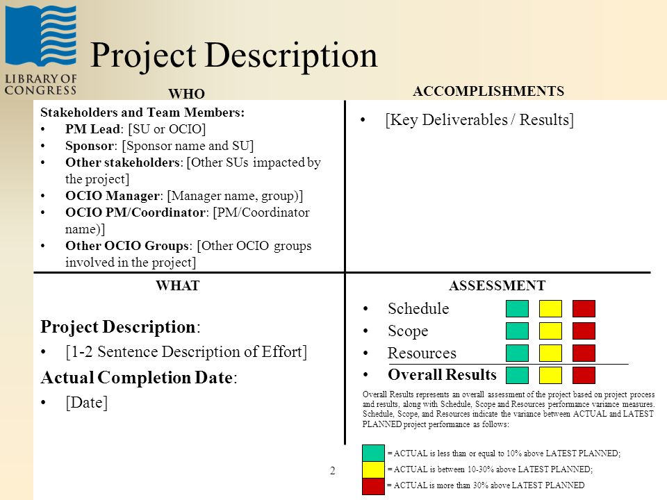 Project Title Proj Id Lessons Learned Presented By Name