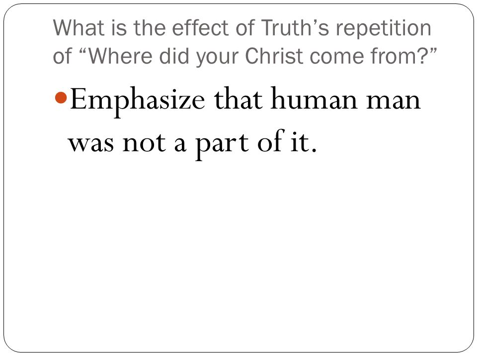 What is the effect of repetition?