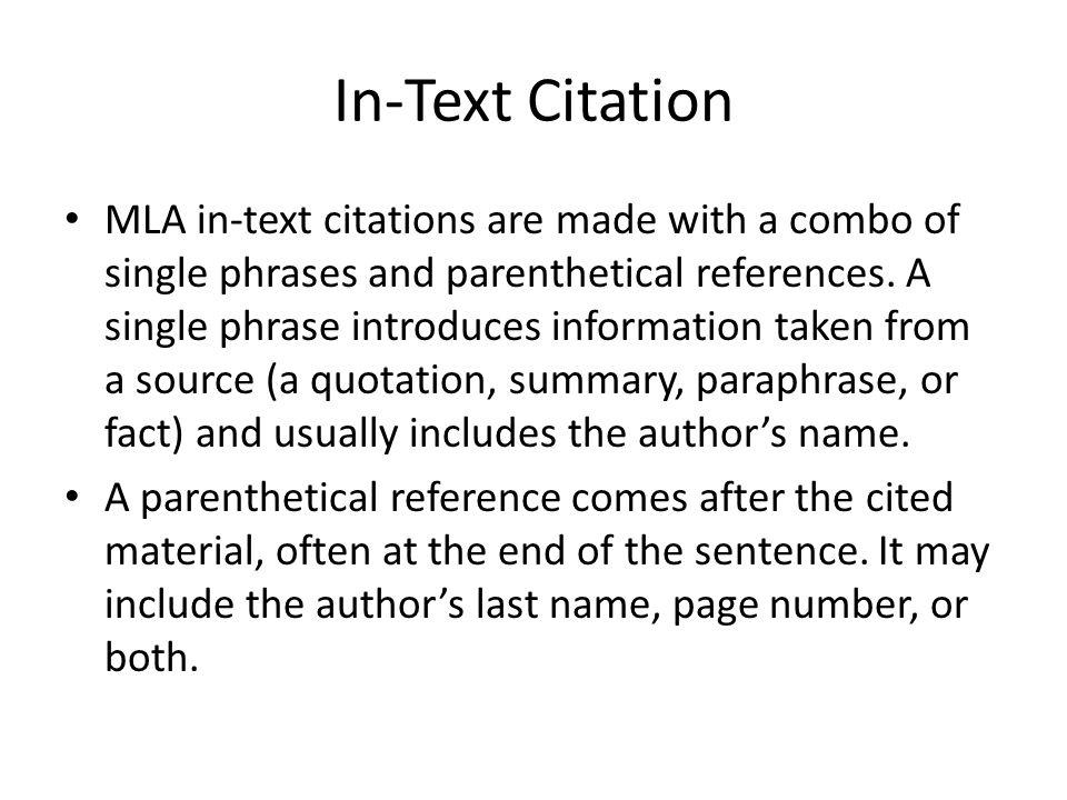 Paragraph citation apa