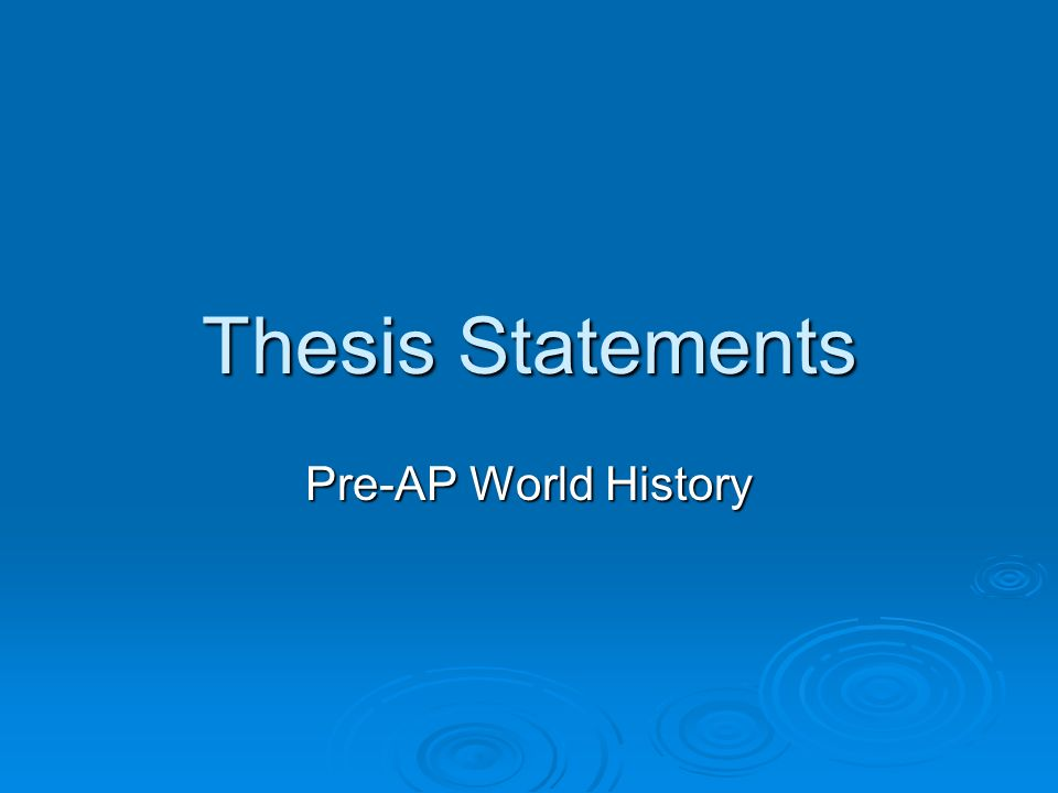 identifying thesis statements in reading