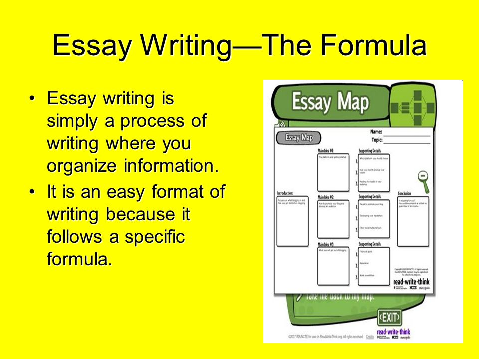 How to Write an Effective Essay: Formulas for Five
