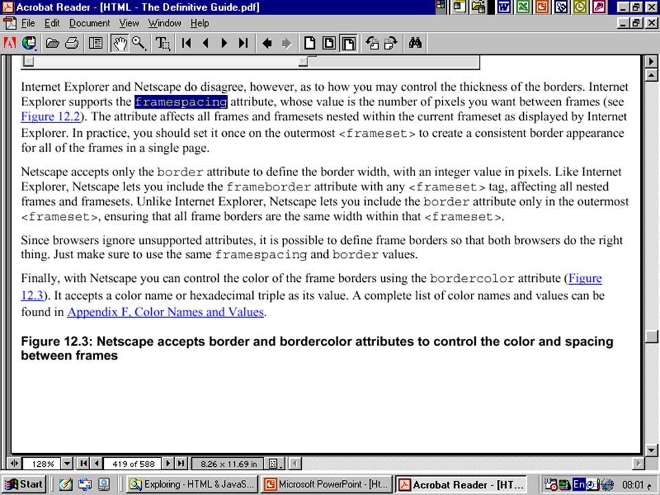 1 Introduction to HTML. 2 Definitions  W W W – World Wide Web ...