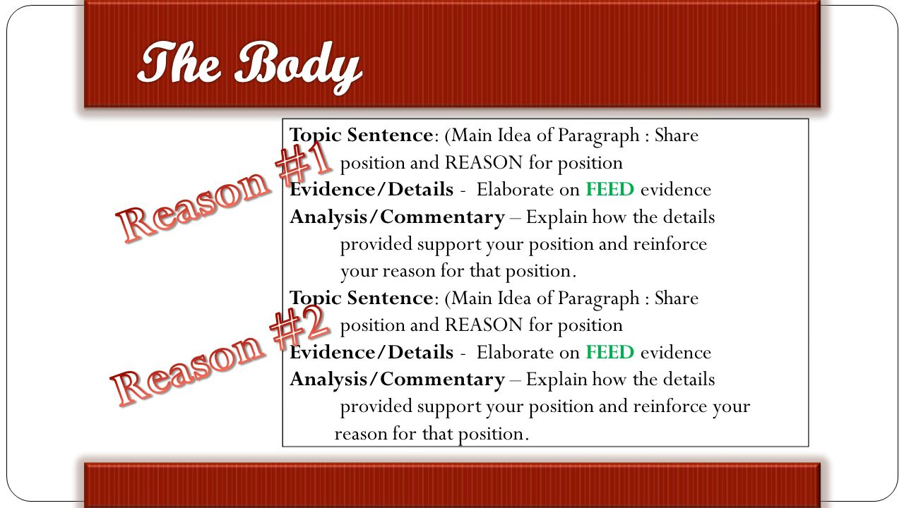expository essay discuss slides first analyze sample expository 5 topic