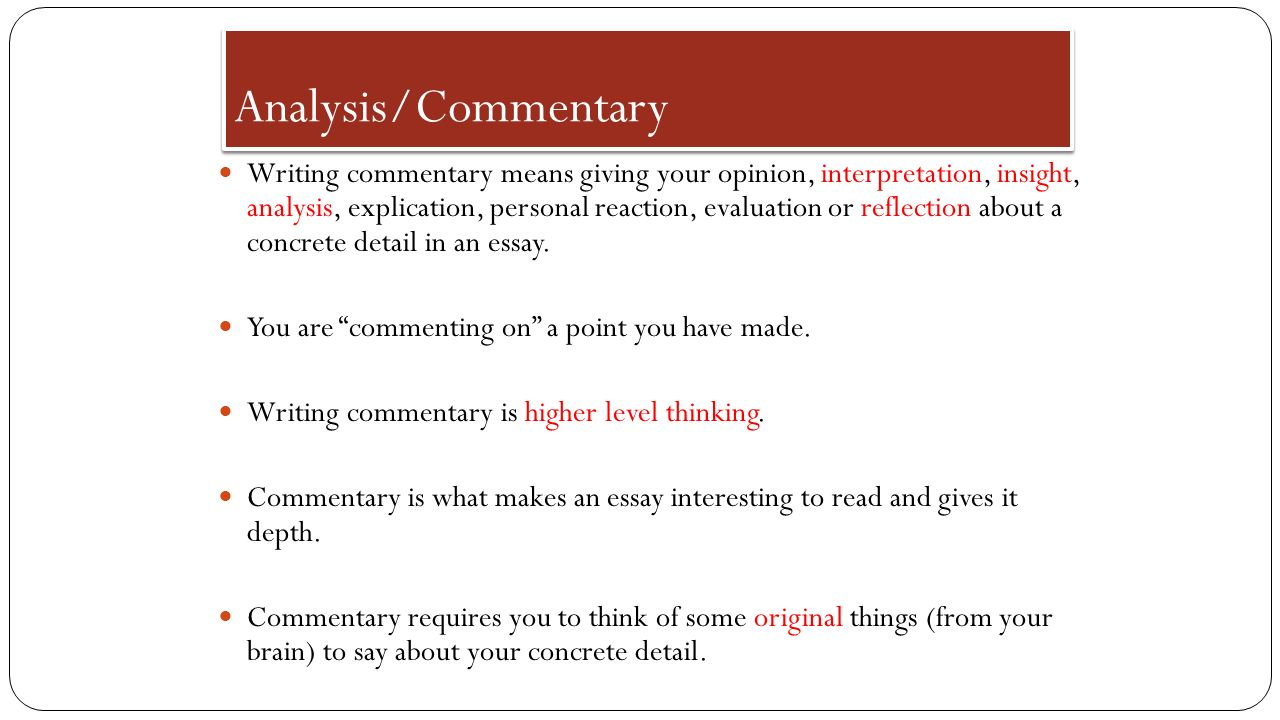 expository essay discuss slides first analyze sample expository 7 analysis commentary
