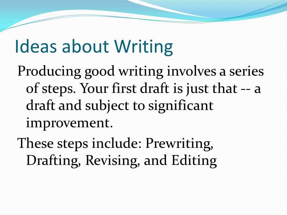 become good writing essays