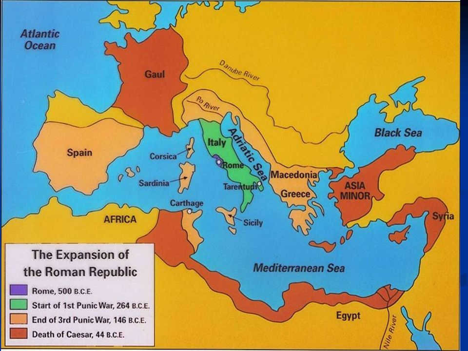 a history of the roman republic from 510 44 bc History of the ancient roman republic the history of the ancient roman republic dates back to c 509 bc, when the roman kingdom was overthrown and replaced by.