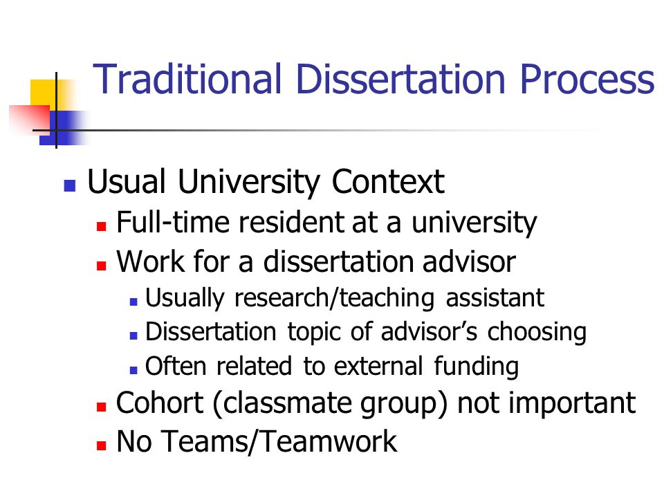 Dissertation Defence Process