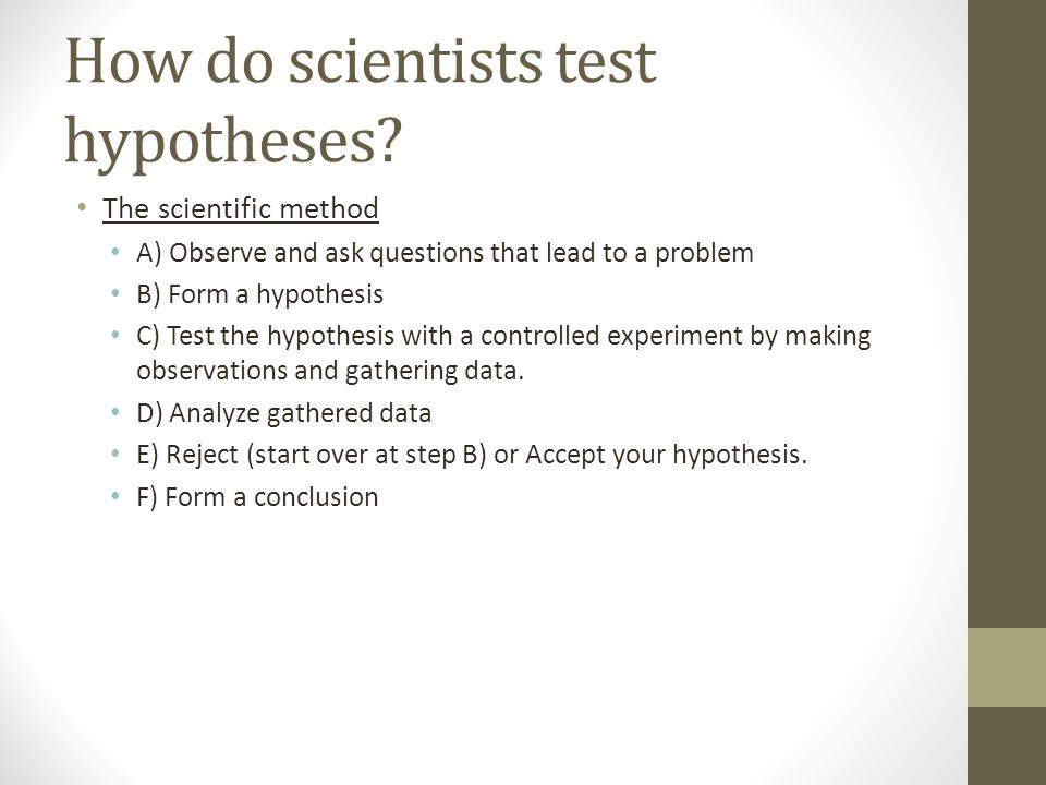 1.3: Scientific Thinking & Processes Key concept: Science is a way ...