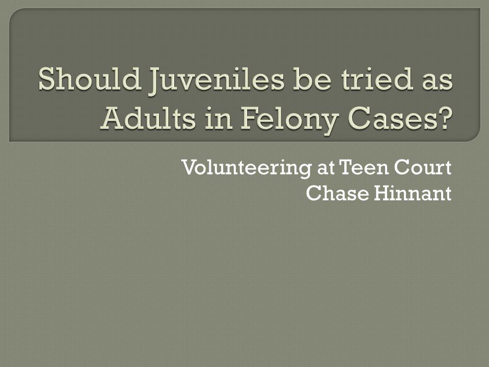 a teen court starting