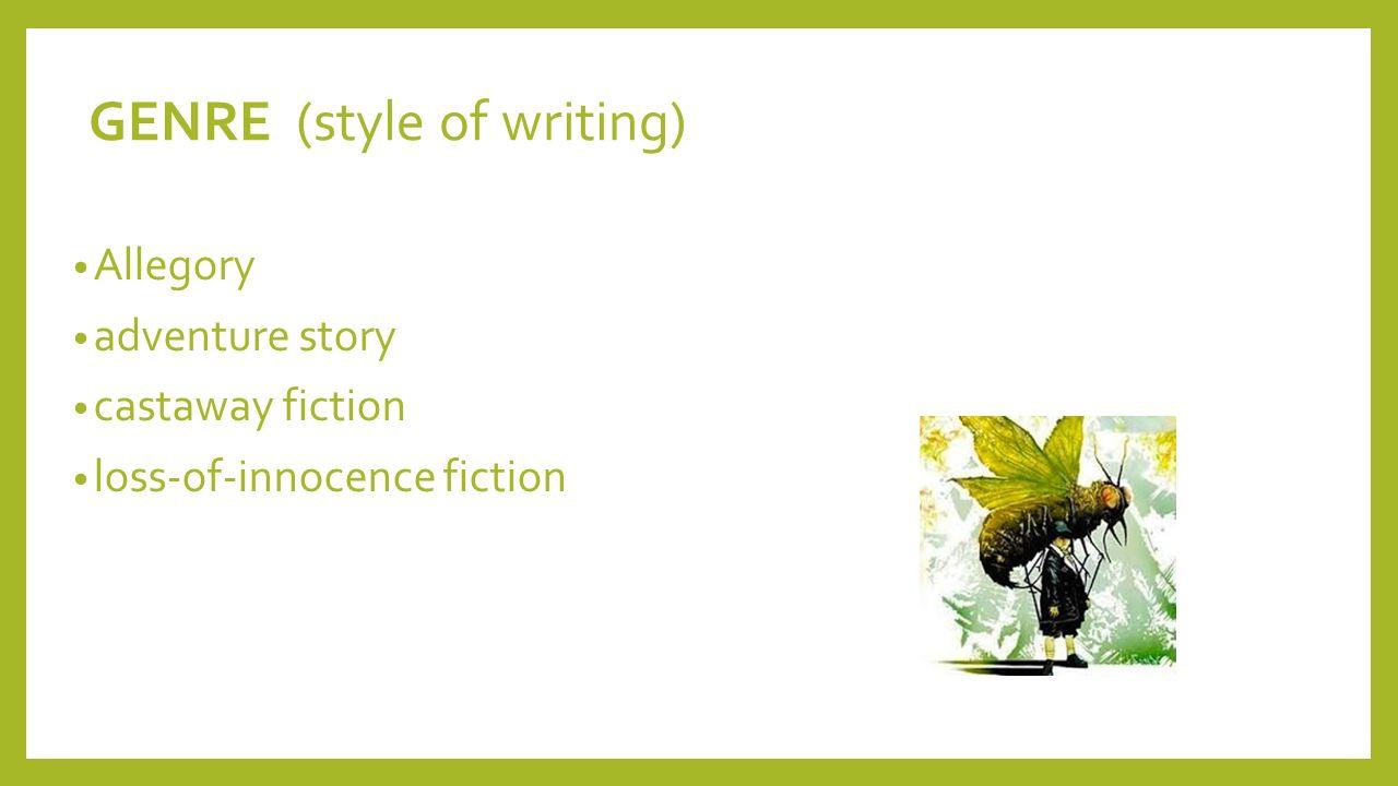 william golding writing style