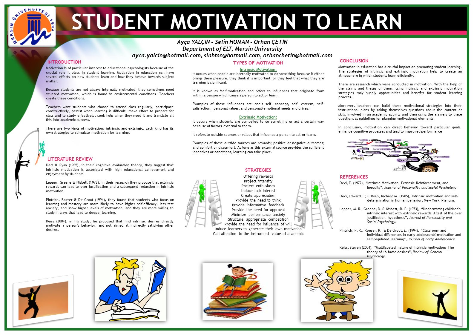 thesis on motivation in education