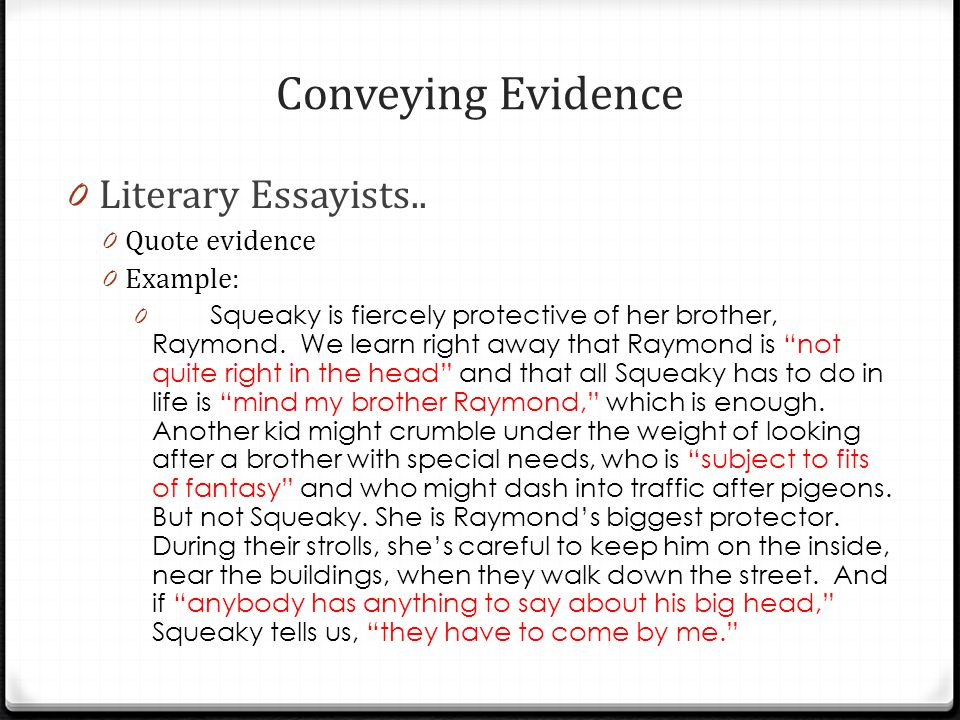 5 conveying - Examples Of Argumentative Essays For Kids