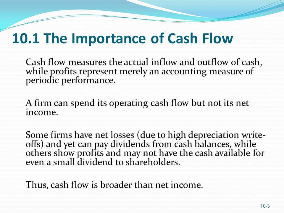 Cash Flow Estimation LEARNING OBJECTIVES 1. Understand the ...