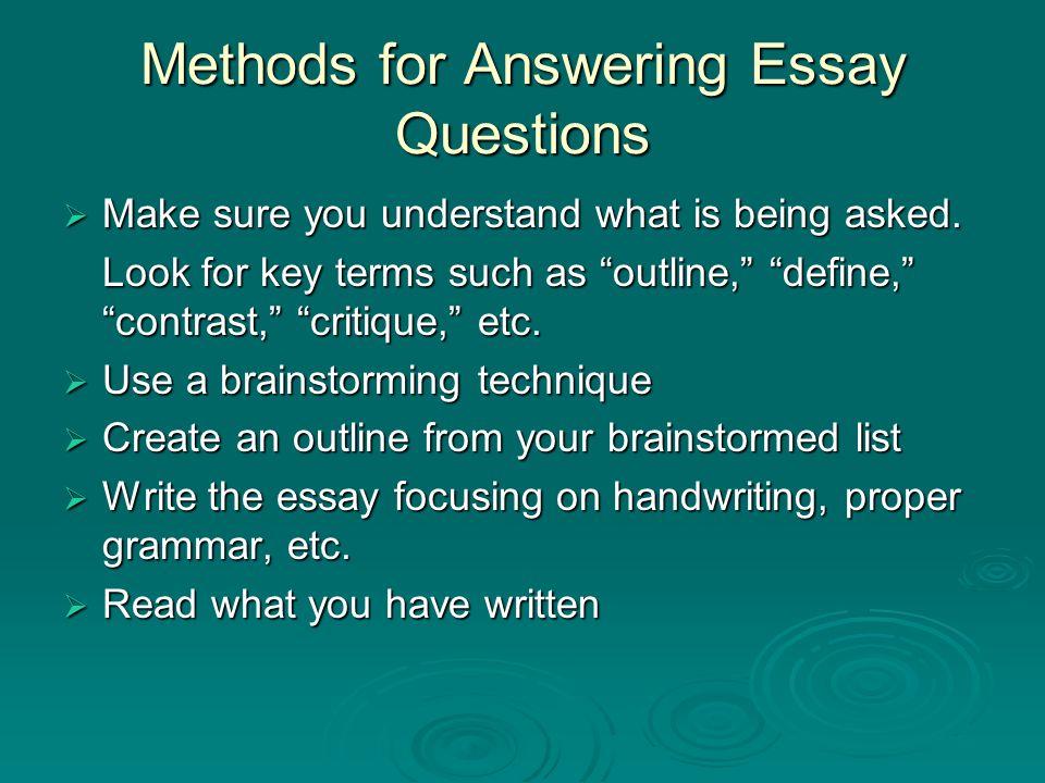 write essay my personality