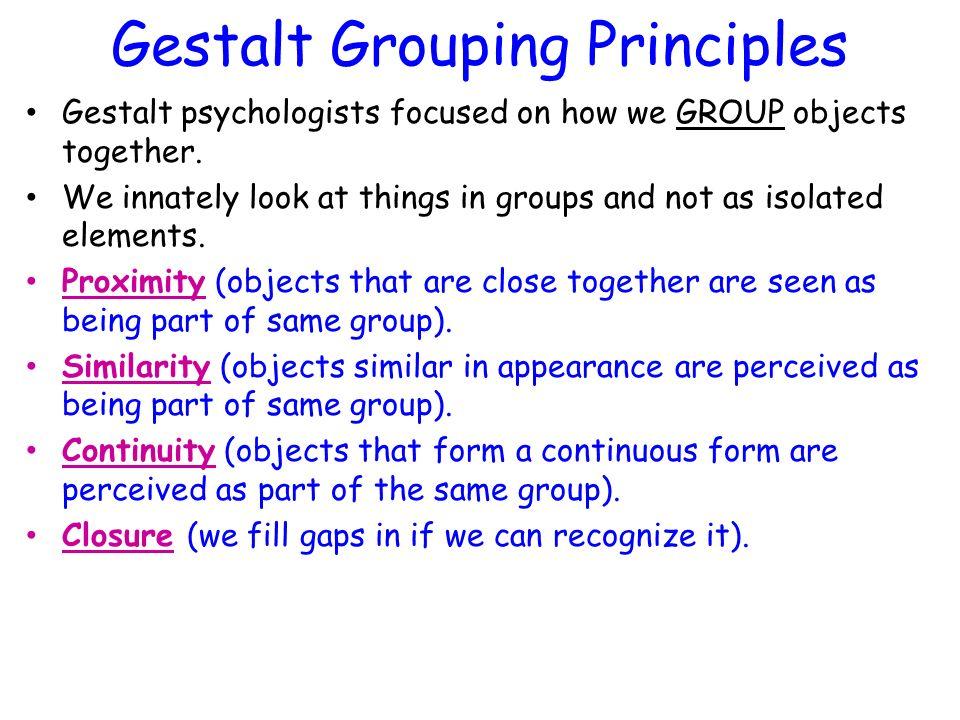 gestalt perception and german psychologists