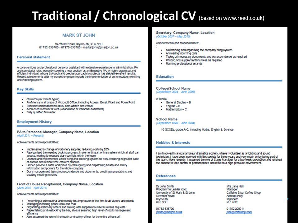 reed recruitment cv template - Roho.4senses.co