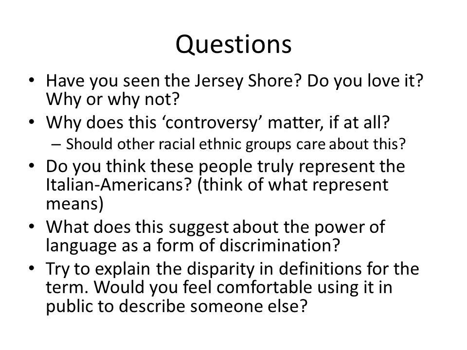 4 Questions ...