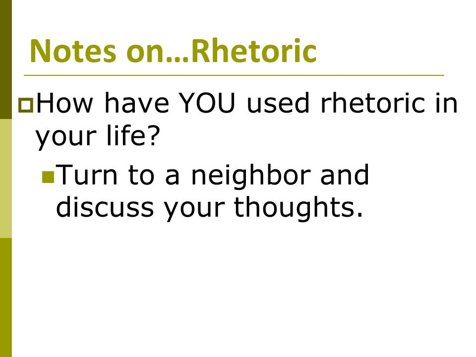 Rhetoric Device/strategies. I cant find out what is a rhetoric strategy.?