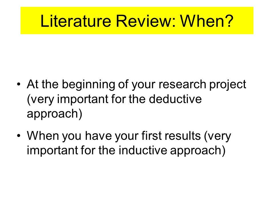 deductive approach dissertation