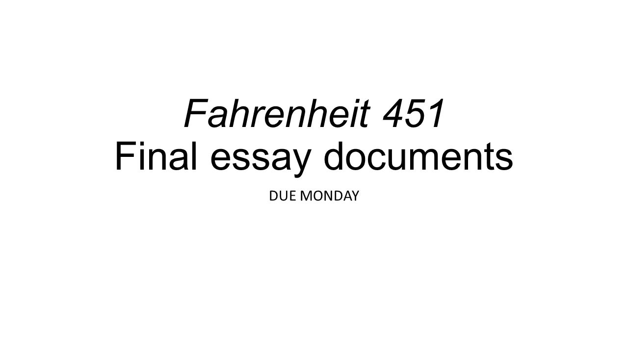 fahrenheit essay on censorship pdfeports web fc com fahrenheit 451 essay on censorship