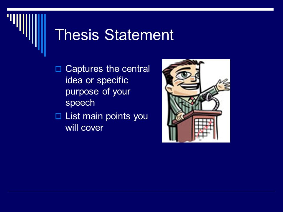 Easy Thesis Statement