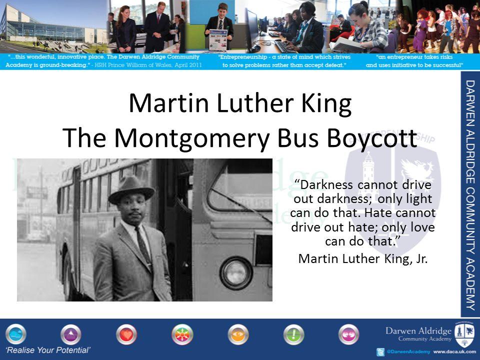 Montgomery Bus Boycott Essay