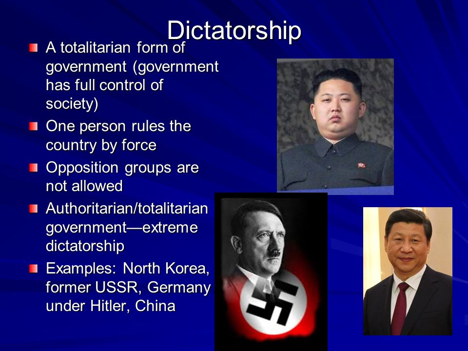 1984 totalitarian form of government