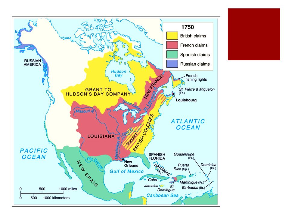 The French And Indian War Starter September Th What Other - What countries are in north america