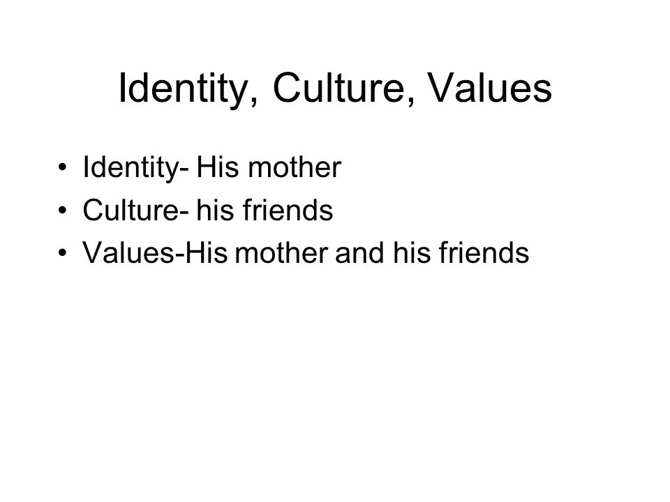 that was then this is now by s e hinton tommy hunley ppt  7 identity culture values identity his mother culture his friends values his mother and his friends