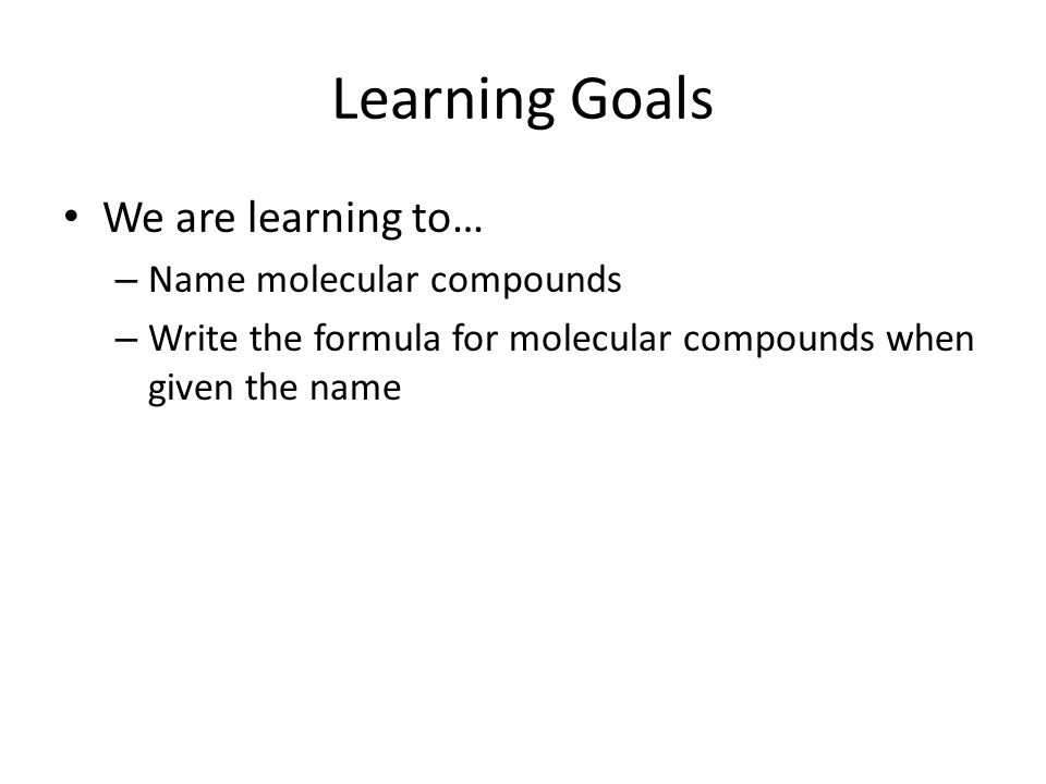 Nomenclature Molecular Compounds Recap Learned about polyatomic – Nomenclature Worksheet 3 Ionic Compounds Containing Polyatomic Ions