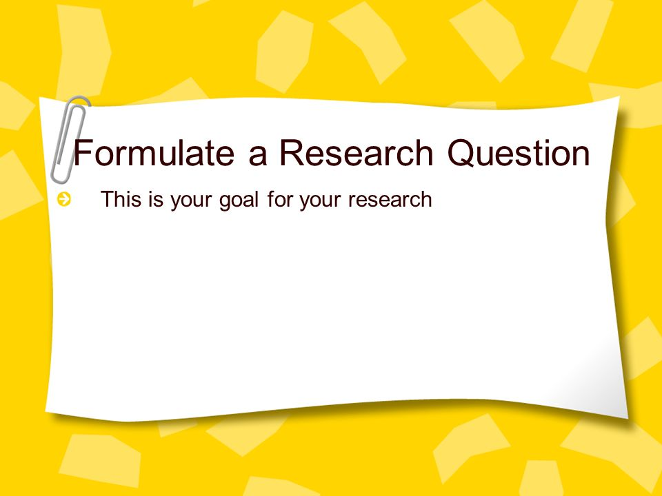 Research paper in english literature  Structure of Research