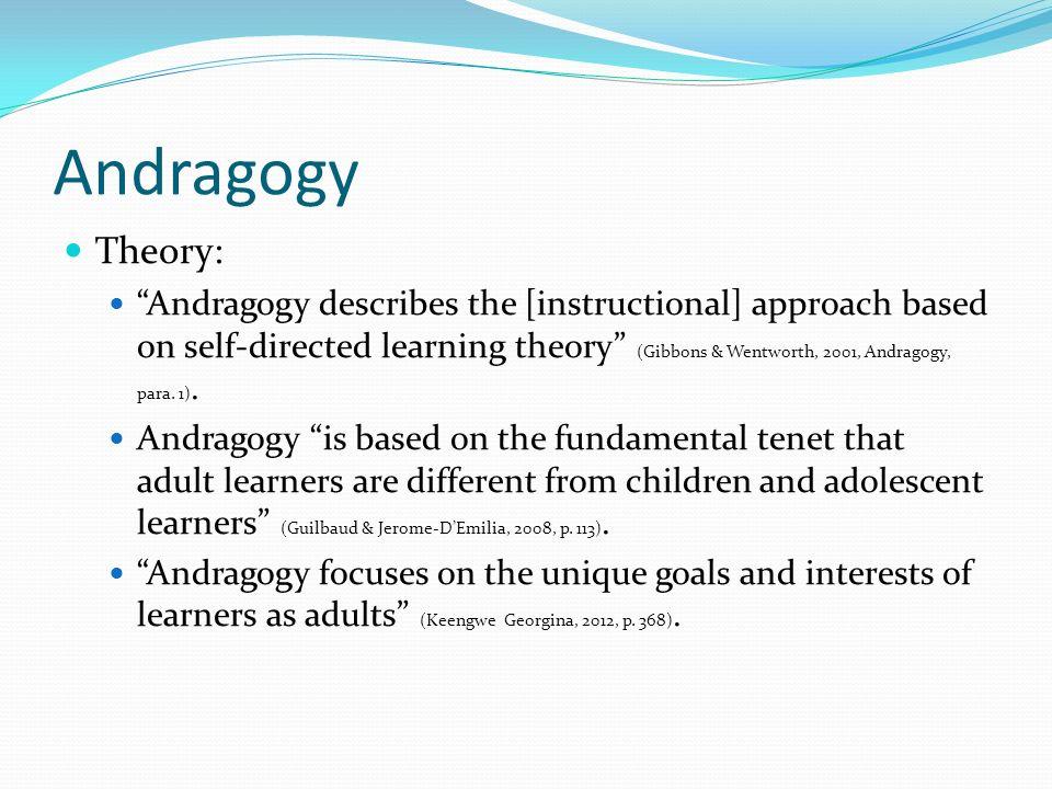 andragogy reflection self directedness essay