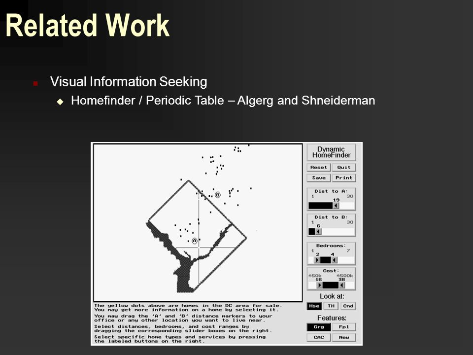 Project update matt williams xml document visualization and 6 related work visual information seeking homefinder periodic table algerg and shneiderman urtaz Image collections