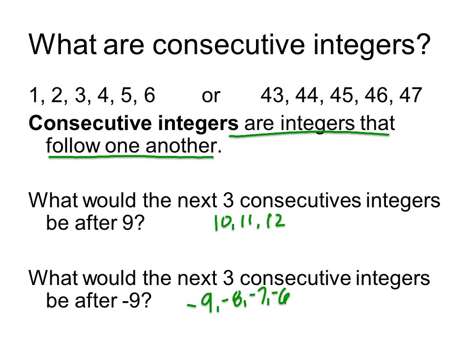 September 19 2012 More multistep equations and consecutive – Consecutive Integer Problems Worksheet