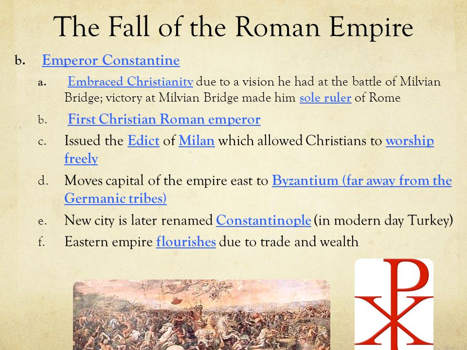 an analysis of the fall of the roman empire The history of the decline and fall of the roman empire with notes by hh milman new ed, to which is added a complete index of the whole work.