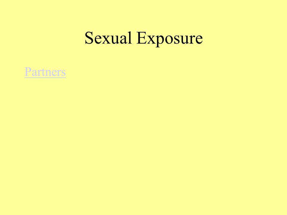 Sexual Exposure Partners