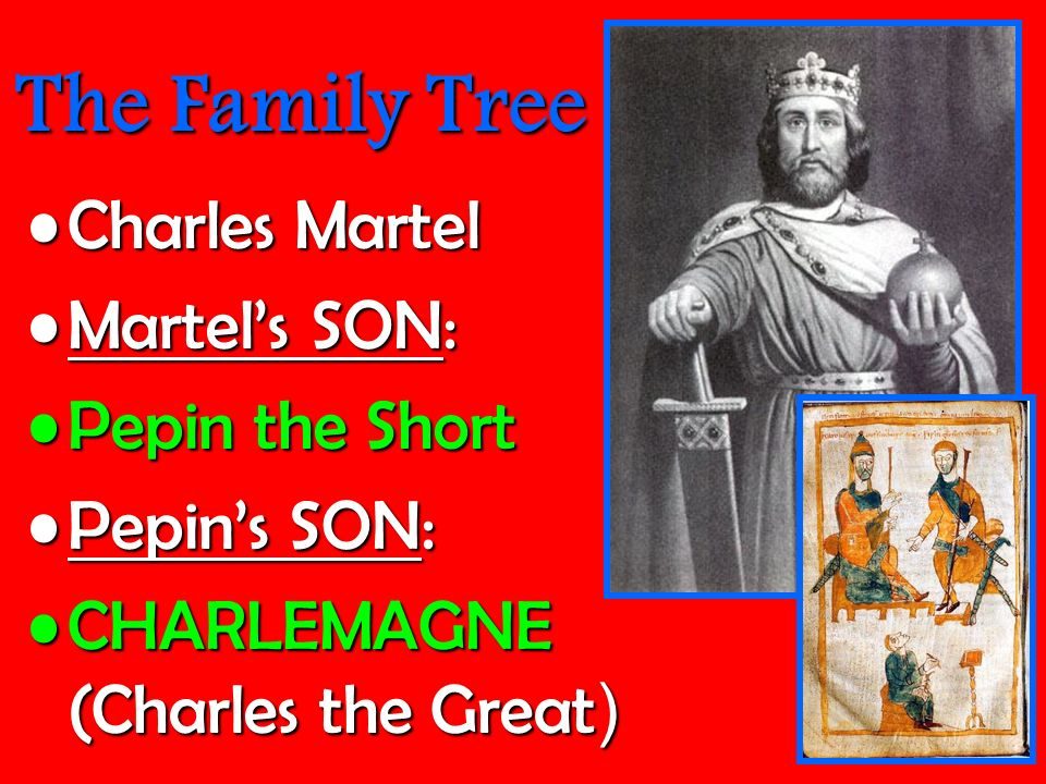 Pepin Son Of Charles Martel