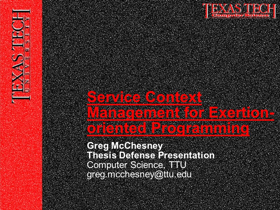 Thesis Service