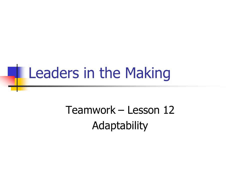 leadership in teamwork essay Leadership part of a series on: psychology outline history subfields basic types abnormal behavioral genetics biological cognitive/cognitivism.