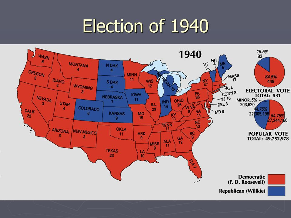 United States presidential election of 1940 | United States ...
