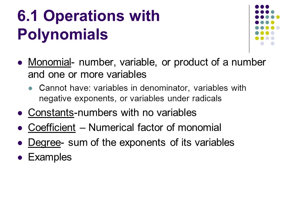 Printables Operations With Polynomials Worksheet 5 1 operations with polynomials worksheet answers intrepidpath algebra the best and
