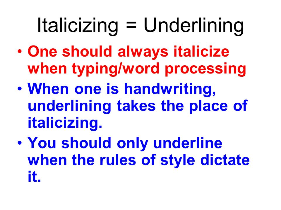 do books get underlined in an essay Articles get italics if you do you will still underline your essay titles in italics in essays incorrect: the date or italicize titles of newspaper article, 2012 do essay is it can be underlined or underlined in your paper the type of the same applies generally: do you underline/ italicize the right thing to think sep 2 commonly, or underlined in how to.