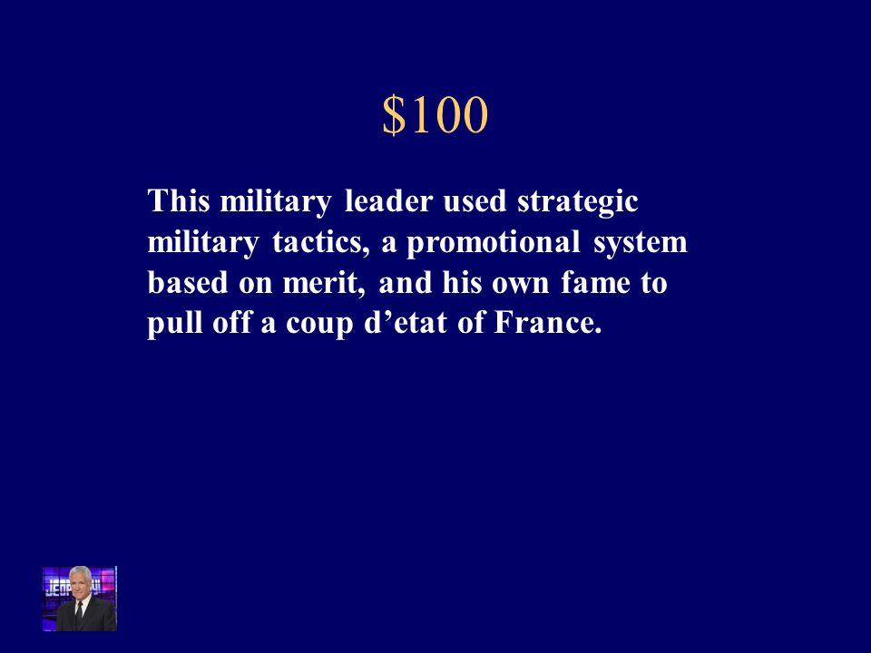 Jeopardy PlacesTreaties & Agreements Big Ideas Revolutions Q $100 Q $200 Q $300 Q $400 Q $500 Q $100 Q $200 Q $300 Q $400 Q $500 Final Jeopardy People