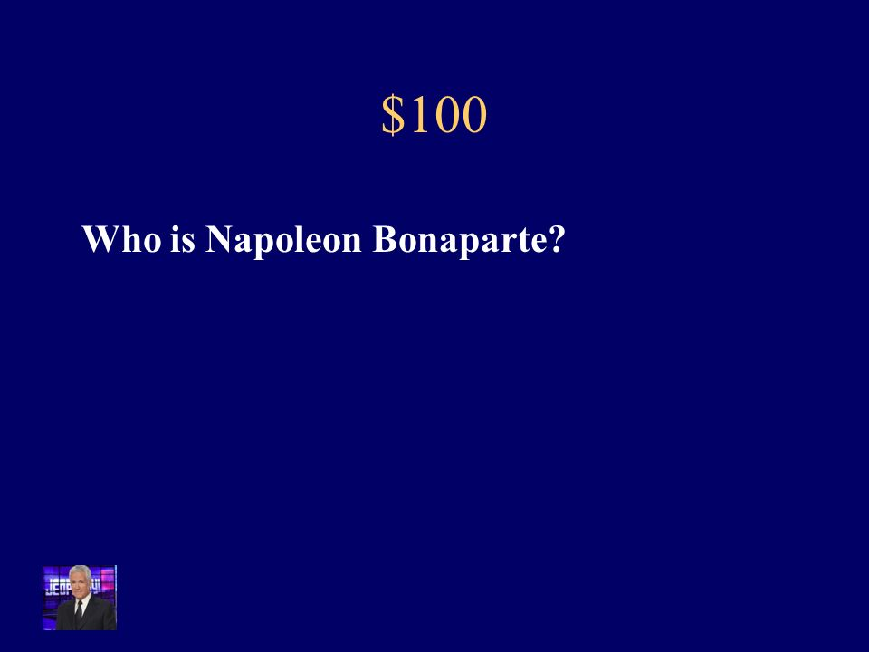 $100 This military leader used strategic military tactics, a promotional system based on merit, and his own fame to pull off a coup d'etat of France.