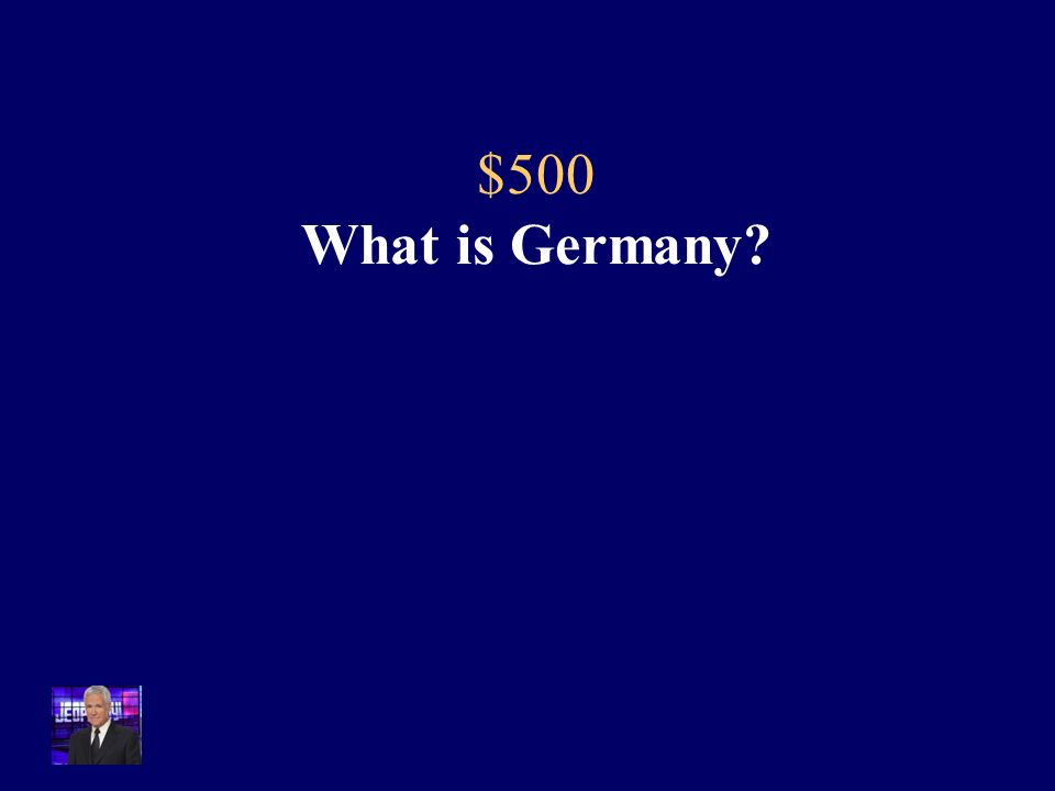500 The agreement made at the end of the Franco-Prussian War led to the unification of this country.